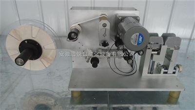非标准对折电线贴标机