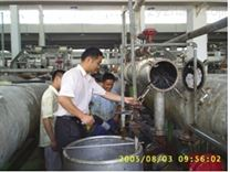 化工廠換熱器疏通|冷凝器清洗用防爆高壓清洗機