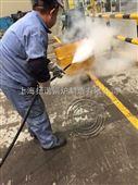 上海大众汽车用上海扬诺电蒸汽清洗机清洗模具