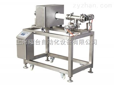酱料专用泵压式金属检测机(Fe0.5mm,Non-Fe0.7mm,SUS1.0mm)