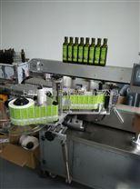 上海橄欖油瓶雙側面貼標機 優質橄欖油貼標機