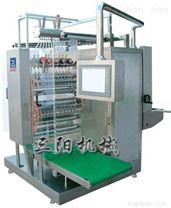 医药食品化工智能型四边封多列液体包装机(DXDO-Y900C)