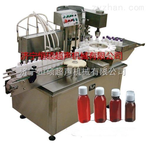 专卖4头液体灌装旋盖机(蠕动泵液体灌装机)