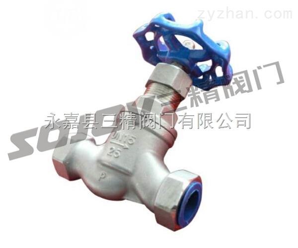 截止阀图片系列:J11W不锈钢内螺纹截止阀