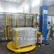 山東托盤纏繞包裝機 透明膜包裝機