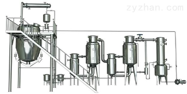 雙效熱回流提取濃縮機組廠家