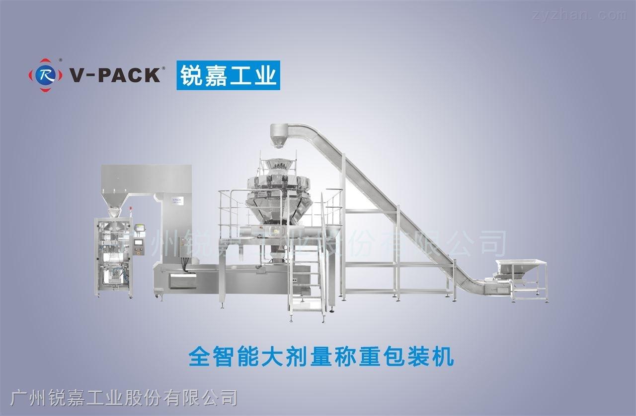 广州锐嘉 全智能大剂量称重包装线 中药饮片包装生产线 厂家定制