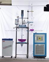 鞏義予華-YSF-50升雙層玻璃反應釜丨高硼硅玻璃丨304不銹鋼支架