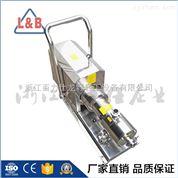 * 不銹鋼帶推車衛生級管線式三級乳化泵 定制髙剪切泵