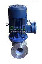 ISG80-100型立式離心泵 防爆管道泵 立式化工泵 3KW管道泵