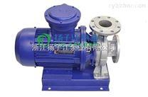 ISWH200-315B不銹鋼管道泵廠家,臥式管道水泵,不銹鋼化工泵