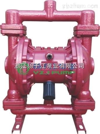 QBY3型增強聚丙稀氣動雙隔膜泵,輸送顆粒泵,泥漿泵,雜質泵
