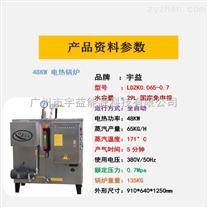 宇益電熱蒸汽發生器48KW工業節能小型鍋爐