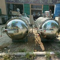 9成新二手不銹鋼殺菌鍋/電蒸汽加熱殺菌鍋