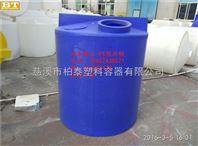 工厂批发LLDPE进口耐腐蚀污水处理水桶,河南养殖饮水储水桶