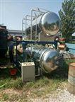 二手不锈钢回转式杀菌锅蒸汽加热灭菌罐