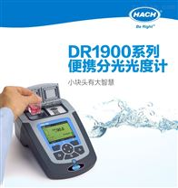 美国HACH DR1900便携式分光光度计