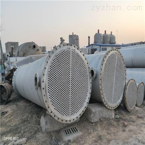 公司新到10台100平方二手不锈钢列管冷凝器