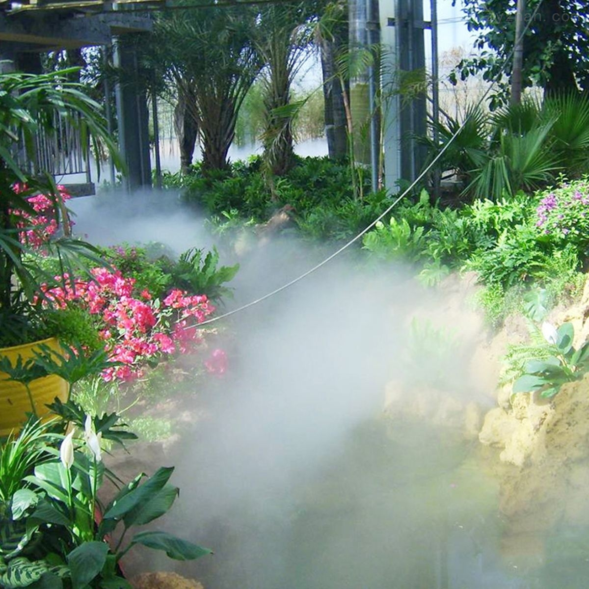 景區造霧機 霧森景觀設備