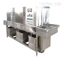 DRT连续式高压喷淋清洗胶箱机器设备