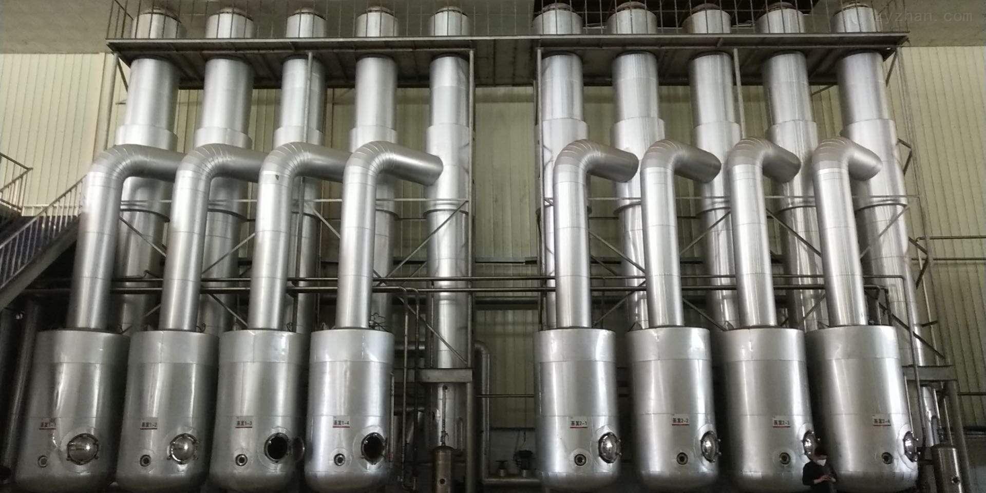 二手四效30吨全钛材蒸发器