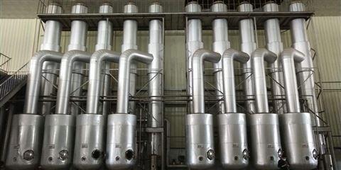 今日低價轉讓一套雙效濃縮蒸發器