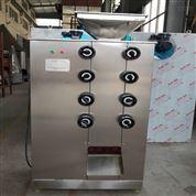 五谷杂粮对辊式粉碎机 三辊式油性料磨粉机