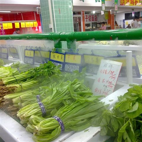 超市蔬菜保鲜喷雾加湿机