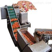 DRT连续式毛刷清洗胡萝卜机器设备