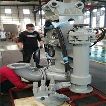 6寸挖掘机液压砂浆吸取泵 沃泉直销