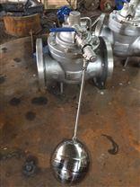100X遥控浮球阀 结构尺寸 安装方式