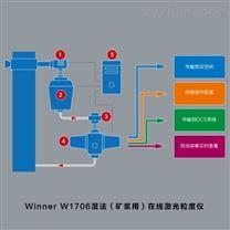 濕法礦漿用在線圖像粒度儀 winnerW1706