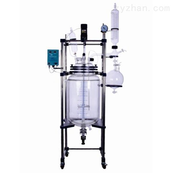 GSFT-10L双层玻璃反应釜厂家