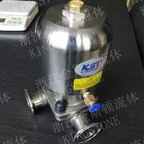 厂家直销卫生级气动三通Txingge膜阀