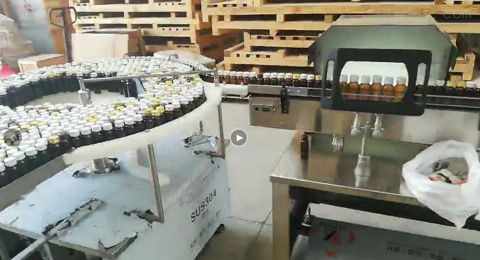 上海明恩-立式圓瓶貼標機