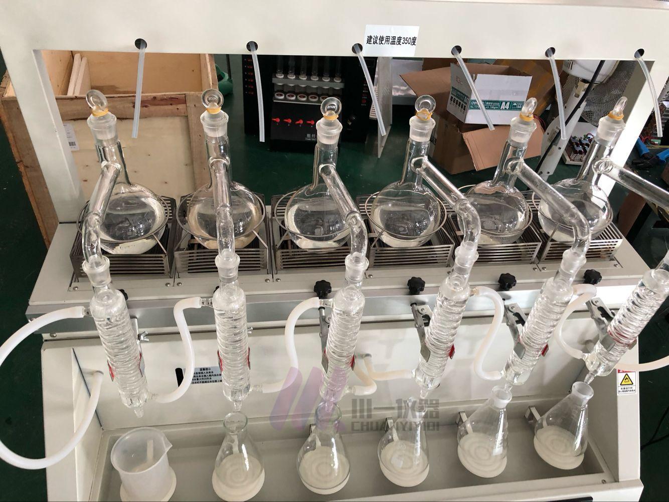 全自动一体化蒸馏仪系列型号的区别